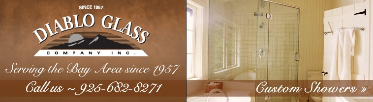 Diablo Glass Company, Inc. Serving the Bay Area Since 1957 - Call Us 925-682-8271